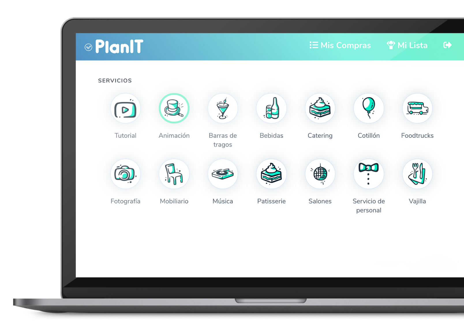 Planit home page